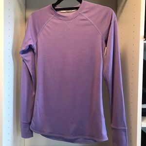 NIKE DRI-FIT purple long sleeve running